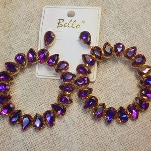 Pierced Cocktail Earrings
